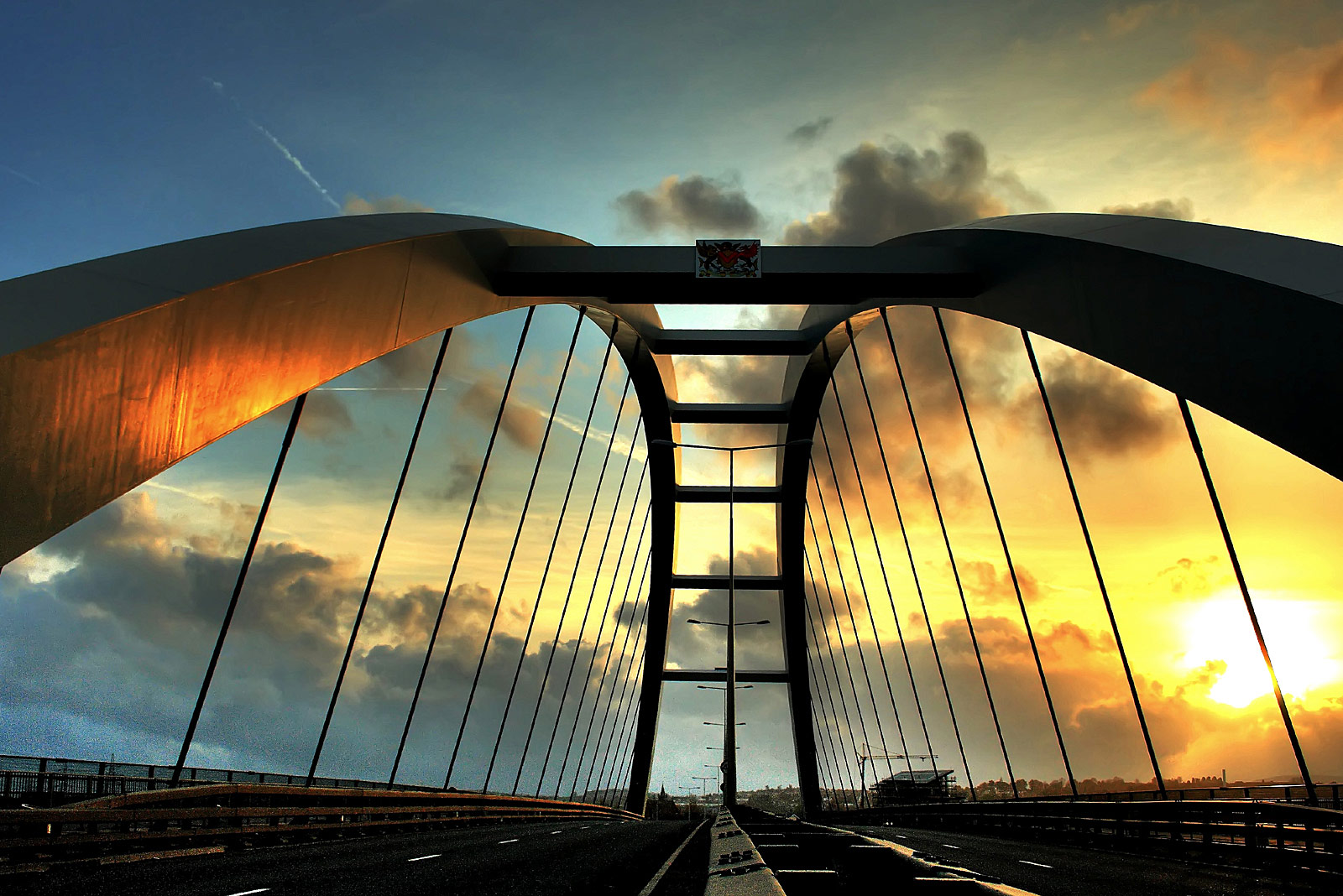 City Bridge Newport South Wales Yee Associates